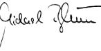 Unterschrift Michael Blum